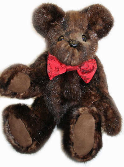 custom fur coat teddy bear