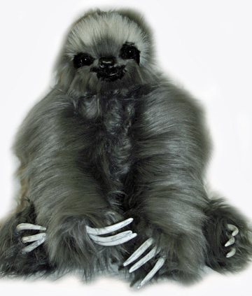 Sammy Sloth, Synthetic Fur - SOLD