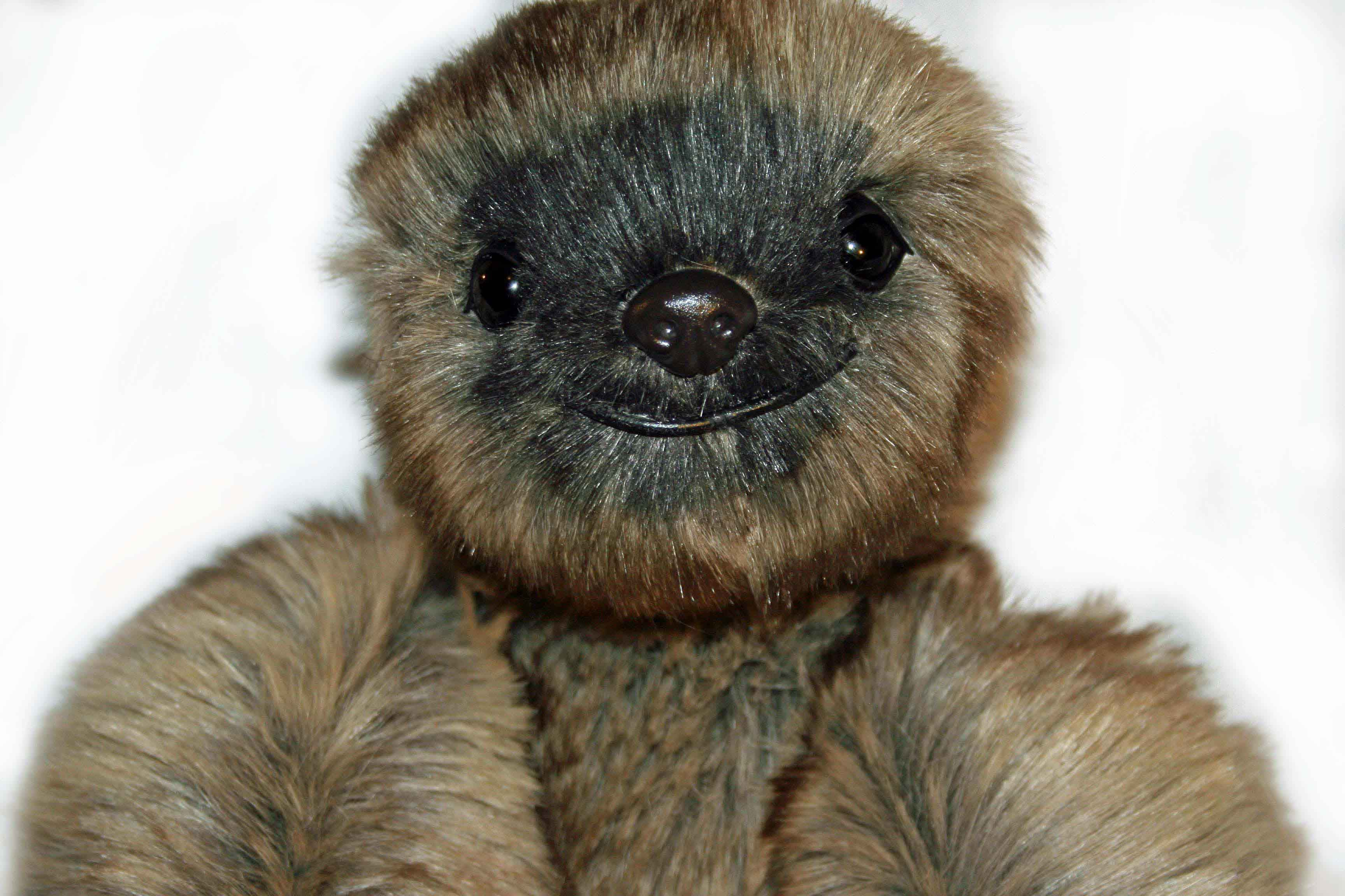 Sylvester Sloth, Synthetic Fur - SOLD